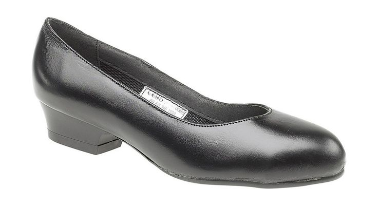 AMBLERS SAFETY - FS96 SAFETY COURT SHOE - LADIES - BLACK • Ladies protective court shoe ideal for uniform use • Lightweight compared to conventional safety footwear • Toe protection tested to 100 joules impact • Conforms to EN346 Safety Footwear Standards • Leather upper and PU Sole  Ladies protective court shoe ideal for uniform use. Lightweight compared to conventional safety footwear. Toe protection tested to 100 joules impact. Conforms to EN346 Safety Footwear Standards. Leather upper…