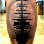35 Regal Ship Based Tattoo Designs With Ships Tattoo