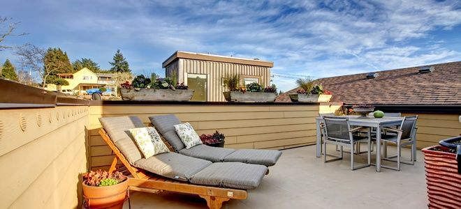 Add A Roof Deck In 2020 Flat Roof Building Roof Building A Deck