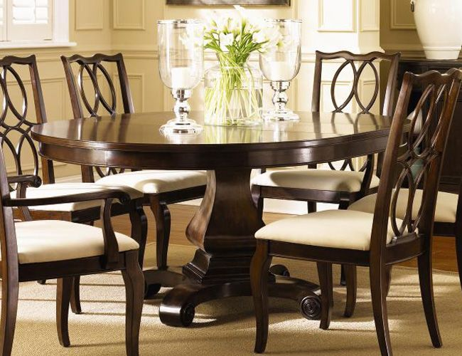 a great table for an eat in kitchen i would used different chairs to soften
