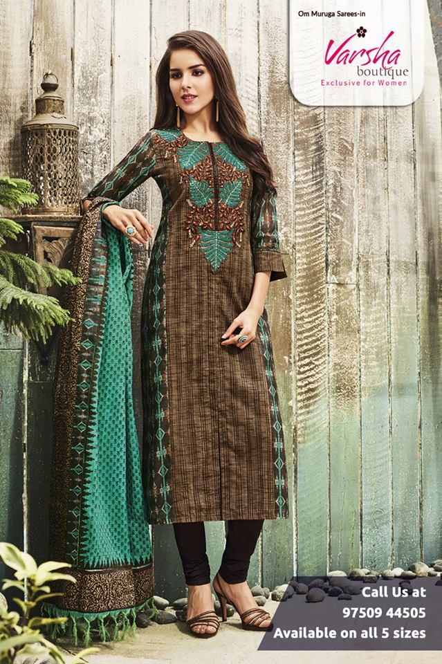79adc66c4e Varsha Boutique is present the amazing stylish designer dress material for  the women, young girls.We have an exquisite collection of designer trendy  wear to ...