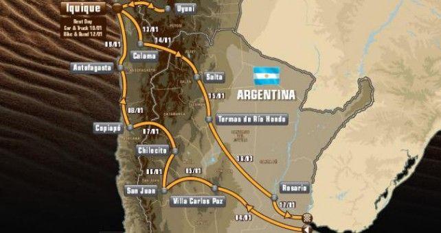 12 ciudades argentinas, chilenas* y bolivianas acogerán el próximo mes de enero las 13 etapas del Dakar 2015, que tendrá un total de 14 días de competición. Por primera vez en la historia del rally, mientras algunas categorías descansan, otras continuarán con la carrera...