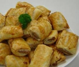 Recipe Vegetarian Sausage Rolls by Thermomix in Australia - Recipe of category Baking - savoury