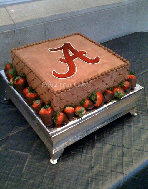 Alabama groom's cake