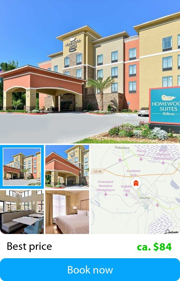 Homewood Suites by Hilton Houma (Houma, USA) – Book this hotel at the cheapest price on sefibo.