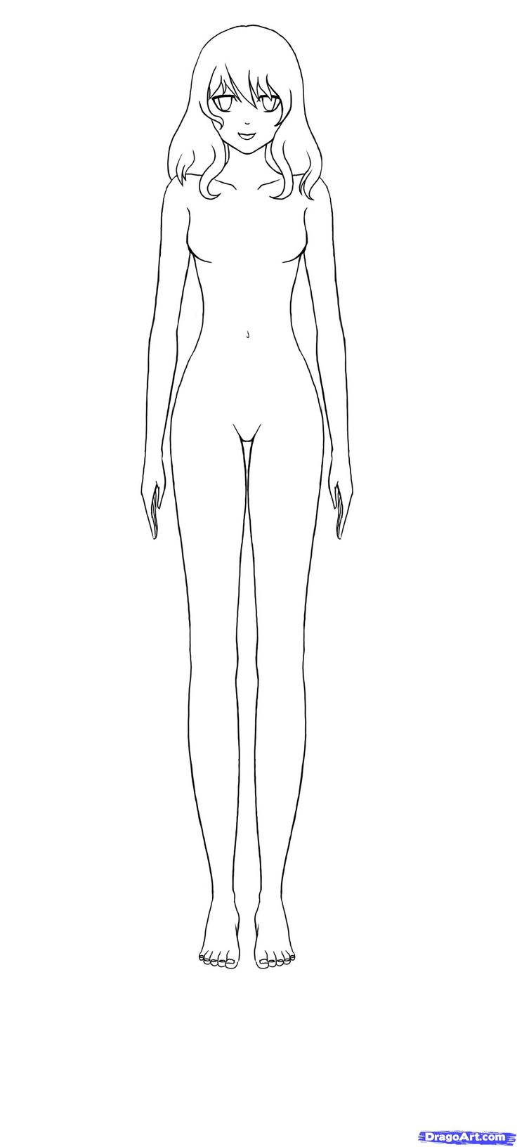 How To Draw Anime Bodies