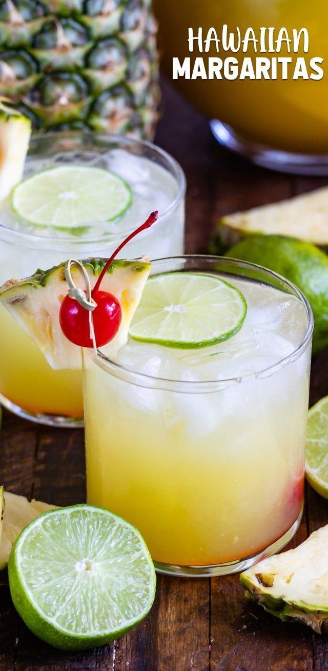 Hawaiian Margaritas Are A Tropical Pineapple Margarita