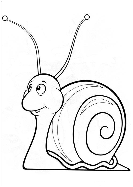 Malvorlagen Zeichnungen. Zeichnungen zum online drucken und ausmalen. Maya die Biene 15