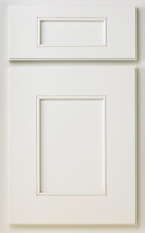 Superb Bridgewood Advantage Door Style: Windom Wood Species: Maple Finish: Painted  White