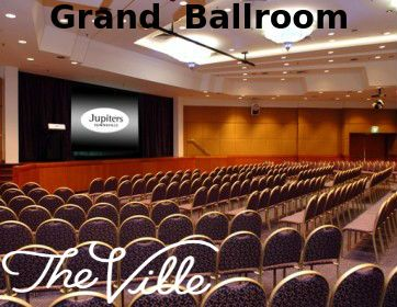 The Grand Ballroom can be divided into three individual meeting spaces or one large pillar-free room (the largest of its kind in Townsville). Dedicated stage and dressing room facilities, cafe and Lobby Shop Convenor's office located beside Ballroom foyer. For more information visit: http://www.the-ville.com.au/function-spaces/board-room/