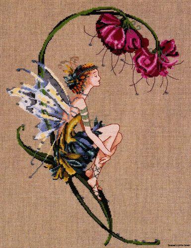The Bliss Fairy Mirabilia Counted Cross Stitch Pattern Nora Corbett Chart MD89   eBay