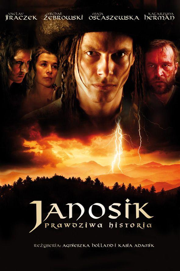 """Plakat do filmu """"Janosik"""" w reżyserii Agnieszki Holland i Kasi Adamik. Projekt: Studio Zakład, www.zaklad.pl"""