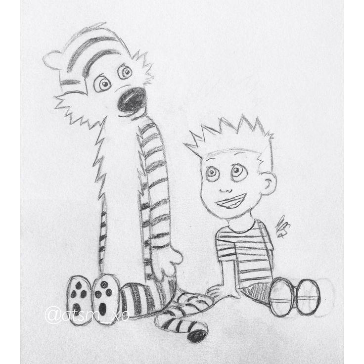 A little my style Calvin & Hobbes