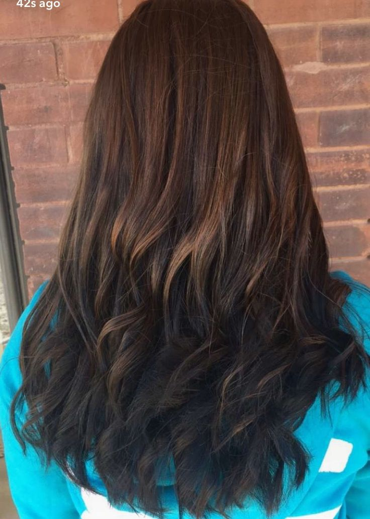 Brunette Reverse Ombr Hair Pinterest Brunettes