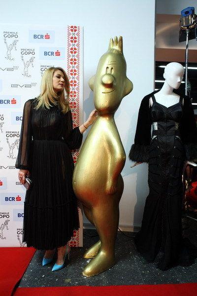 Amalia wearing Parlor at Gopo Fashion Night! #fashion #gopo #parlor #dress #spring #redcarpet #awards