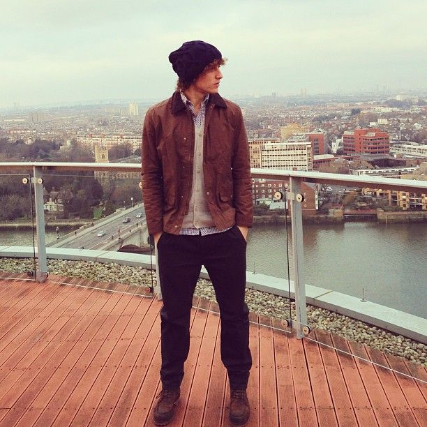 David Luiz at London. Photo by davidluiz_4