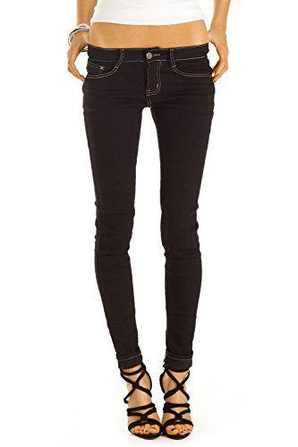 61650aa27cf Bestyledberlin pantalon en jean femme jean slim fit taille basse j37f 42 XL