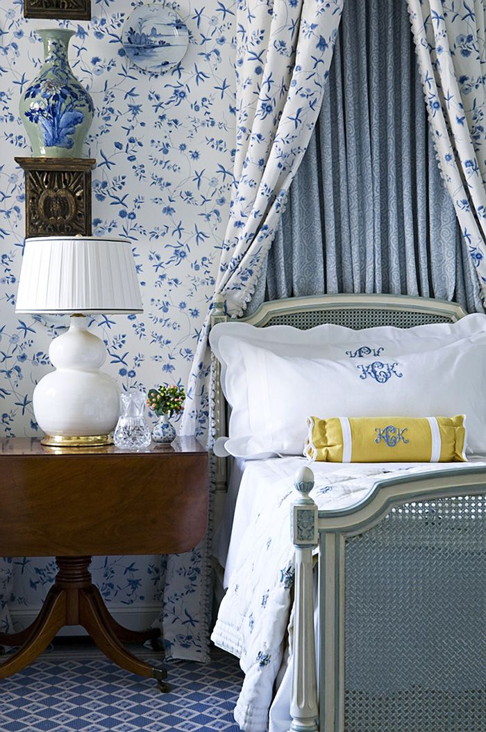 Best 25 Blue And White Wallpaper Ideas On Pinterest