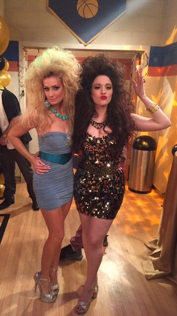 Beth Behrs (@BethBehrs) | Twitter-the 80's are calling (& Kat Dennings,) of 2 Broke Girls.