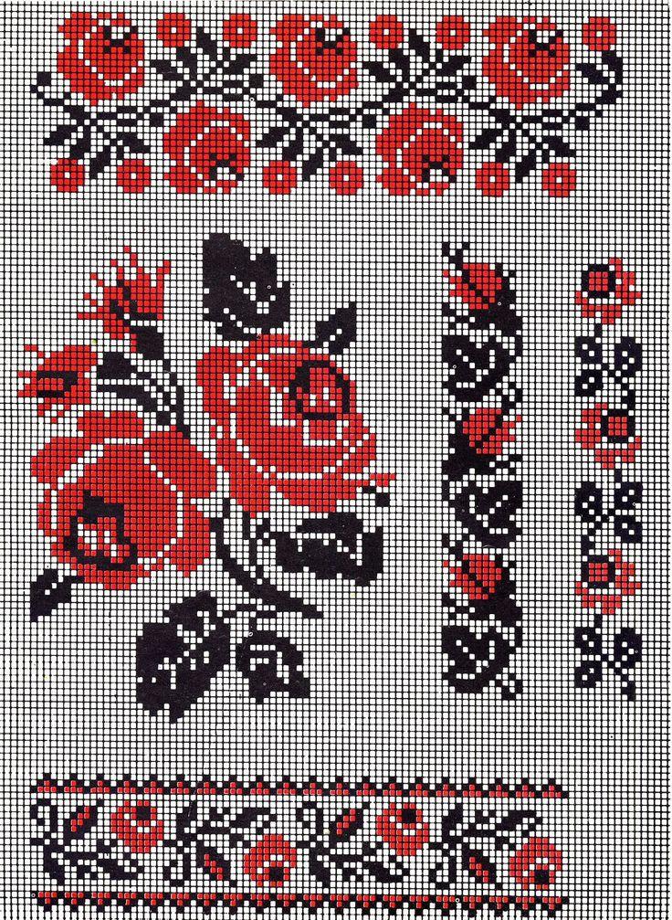 FolkCostume&Embroidery: Ukrainian Rose Embroidery
