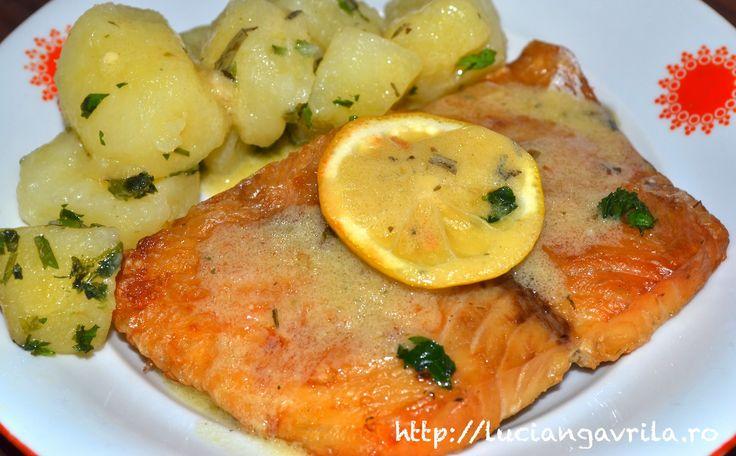 Sos acrișor cu lămâie, muștar și tarhon - pentru pește sau fripturi