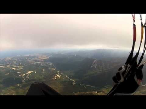 Paragliding over the #Misiryeong Ridge Mountains, #Gangwon Province, Korea (Part 2) | 미시령 패러글라이딩