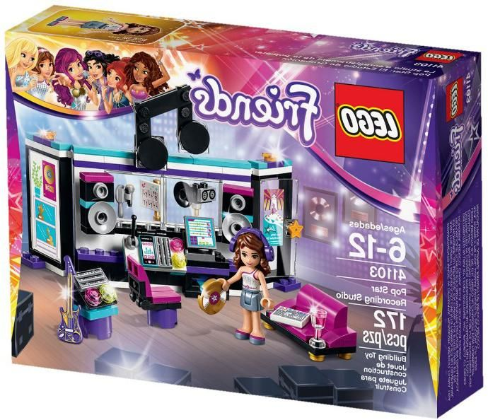 Lego LEGO, Friends Поп звезда: студия звукозаписи
