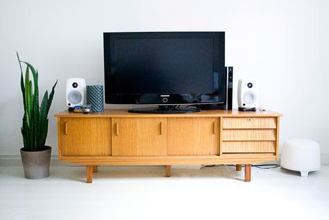 Danish sideboard for beautiful TV stand and statement piece