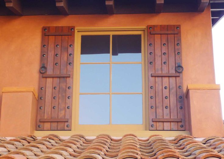 Decorative House Shutters With Designs Decorative