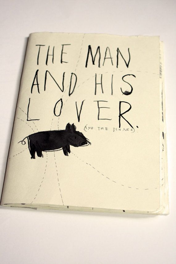 Original Artists Book The Man and His Lover door FayeMoorhouse