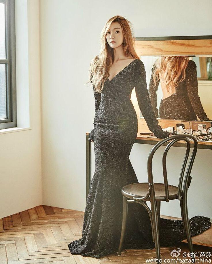 Jessica Jung Bazaar China Myj Jessica Pinterest Jessica Jung Kpop And Snsd