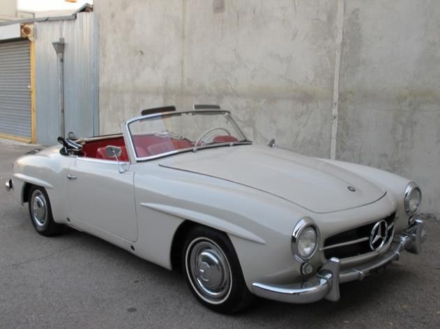 1956 Mercedes 190 SL Convertible