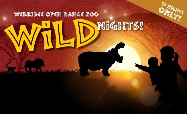 Bring your torch and a sense of adventure to Wild Nights at Werribee Open Range Zoo this winter! Zoos Victoria   http://www.zoo.org.au/werribee/whats-on/wildnights