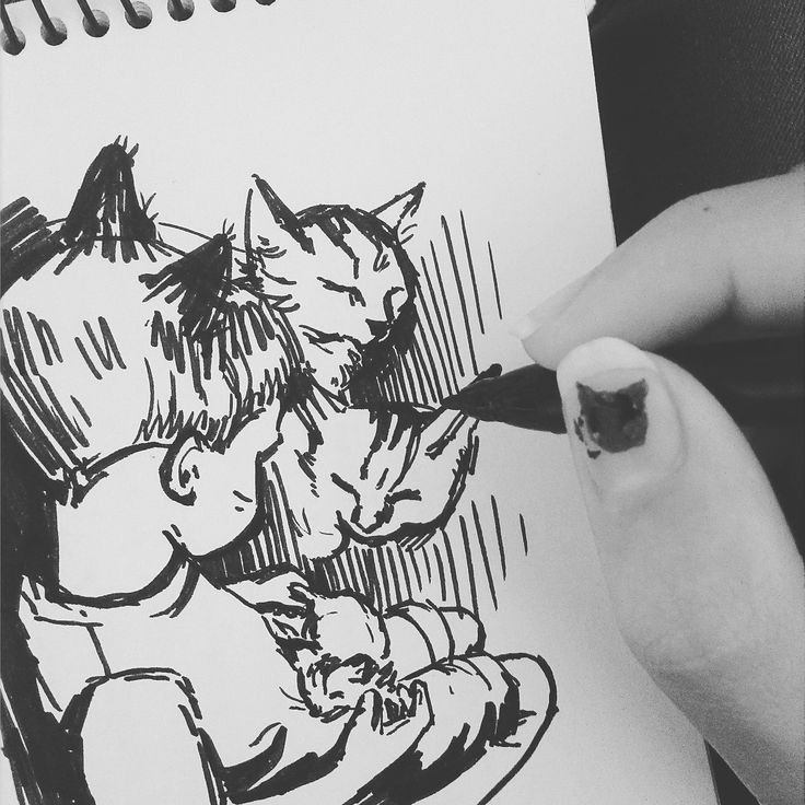 Cat sketch ❤