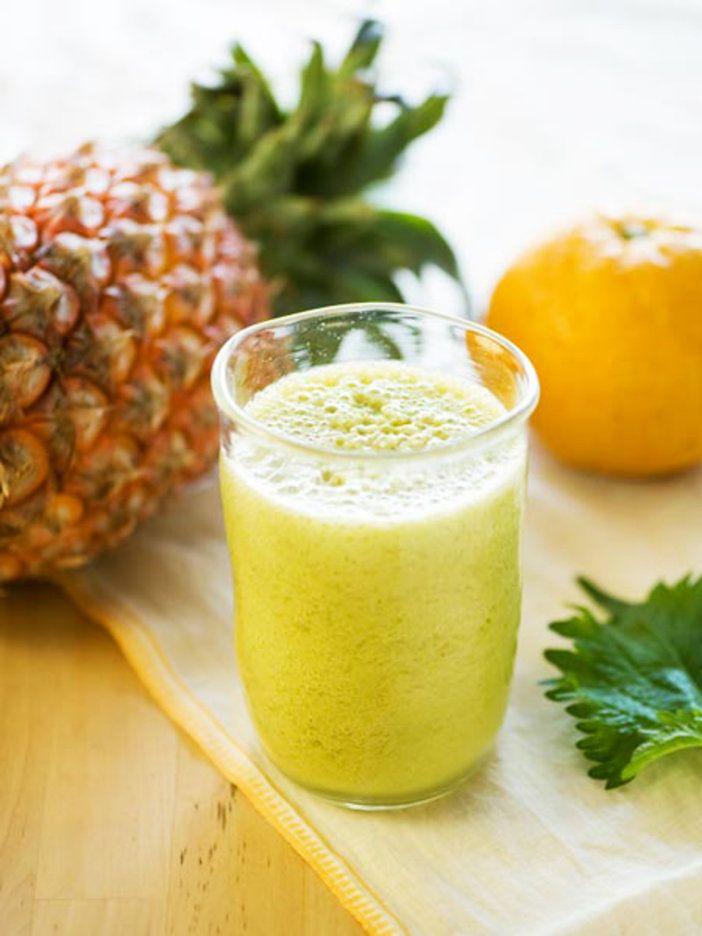 大葉と夏のフルーツでこんなにすっきりとした味わいに。|『ELLE gourmet(エル・グルメ)』はおしゃれで簡単なレシピが満載!