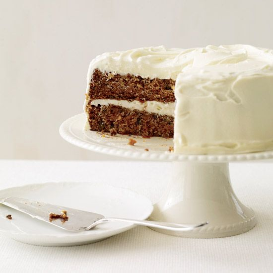 Classic Carrot Cake with Fluffy Cream Cheese Frosting // More Great Cakes: http://www.foodandwine.com/slideshows/cakes #foodandwine