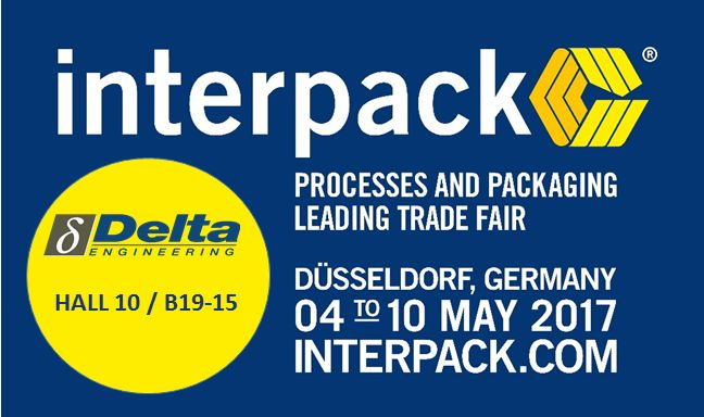 VISIT DELTA ENGINEERING AT INTERPACK  Delta Engineeering will be at Interpack 2017, one of the essential events for the food, beverage, confectionery, bakery, pharmaceutical, cosmetics, non-food and industrial goods sectors.  If you would like to schedule an appointment with one of our sales representatives, please contact us and we will gladly reserve time for a meeting.  Come and see us, Hall 10 / B19-15! Find more: https://delta-engineering.be/news#tab-2