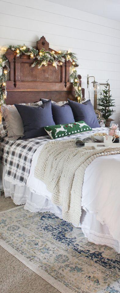 Christmas Bedroom | Shades of Blue Interiors