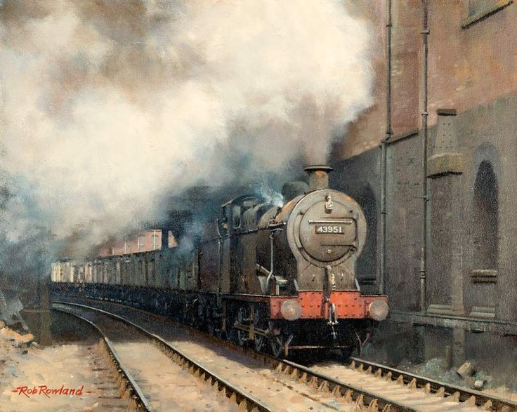 Artist Rob Rowland - Member of the Guild of Railway Artists