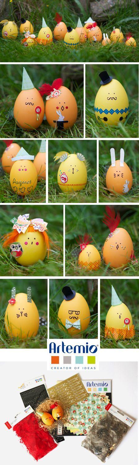 Deco Artemio. Easter eggs
