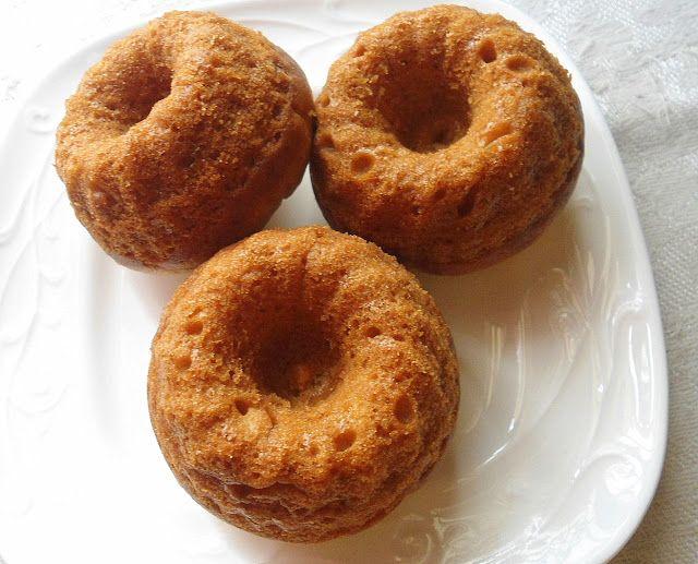 Babi 's Recipes: Mini Bundt Cake   Butterscotch Bundt Cake   Eggless &Butterless