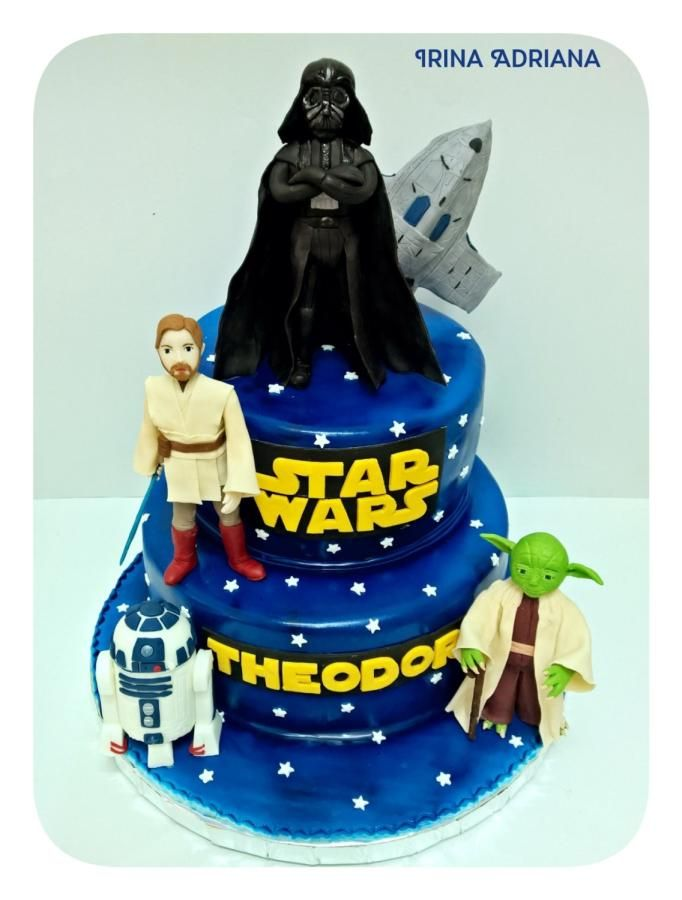 Star Wars - Cake by Irina-Adriana