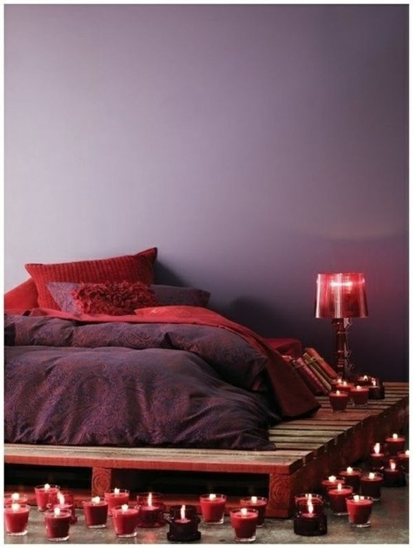 Die besten 25+ Lila schlafzimmerwände Ideen auf Pinterest - einfach nachgemacht wandgestaltung wischtechnik