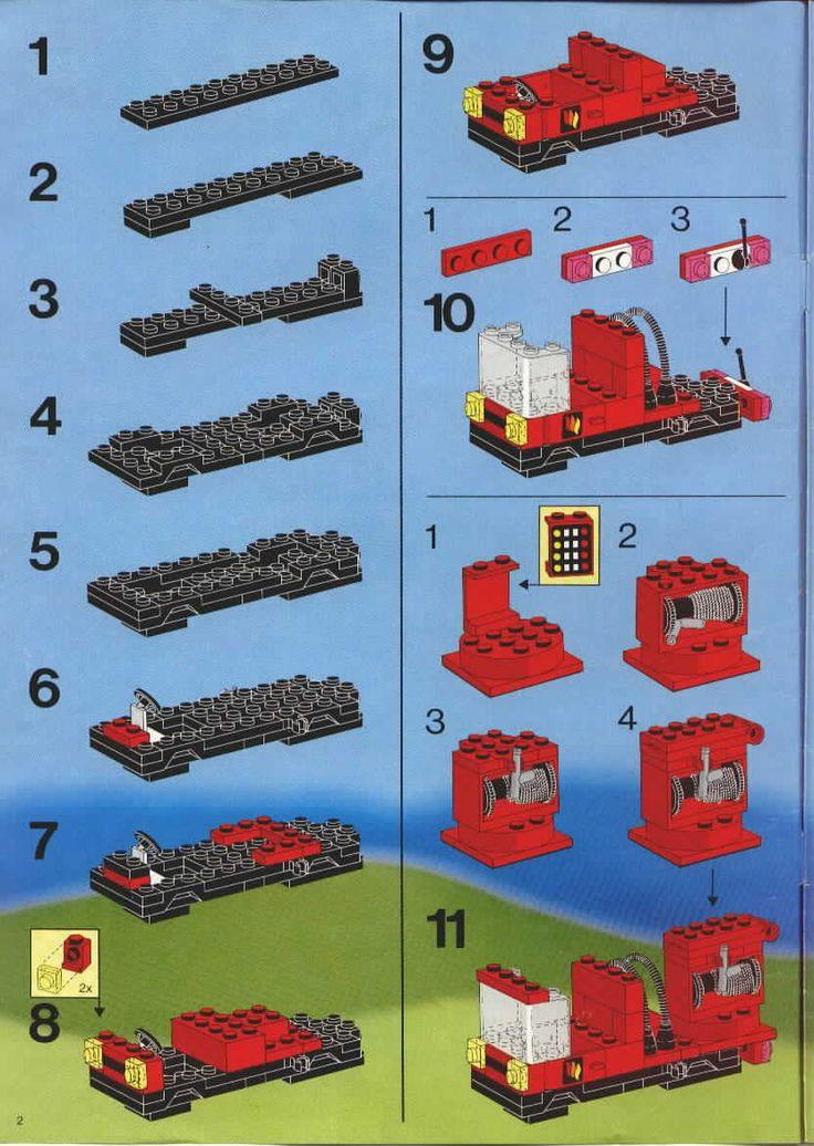 Rescue Fire House I Lego 6385 J 225 T 233 Kok