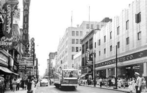 Woolworth Co. store on Ste Catherine  Montreal circa 1950