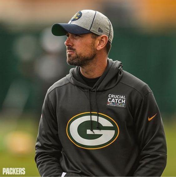 Matt Lafleur In 2020 Green Bay Packers Players Green Bay Packers Football Green Bay Packers