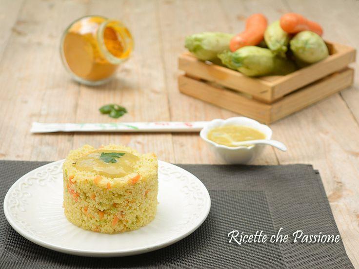 Couscous con Salsa al Curry e verdure