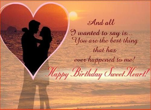 Happy Birthday Love Quotes for him or her