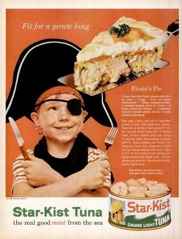 Pirate's Pie Star Kist Ad 1960's