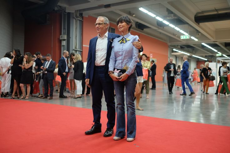 #PINKO #charity #convivio #convivio2014 #anlaids Pietro Negra and Cristina Rubini